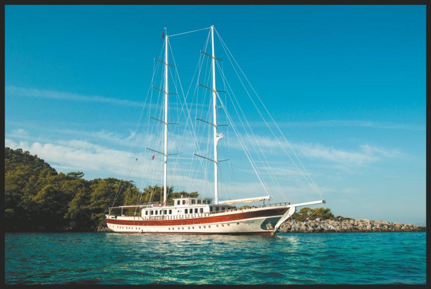 Tersane 8 Gulet mavi yolculuk yapmak isteyen özellikle yoga grupları tarafından tercih edilen delüks teknelerdendir. Çok az sayıda bu kadar büyük ve 30 kişi kapasiteli gulet bulunmaktadır. Oldukça geniş ve konforlu bir teknedir. www.maviyolculuktekneleri.com